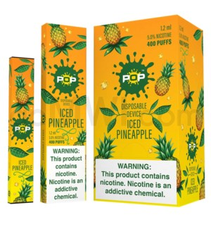Pop Disposable Nic-Salt E-Juice 1.2ml 5% - Iced Pineapple
