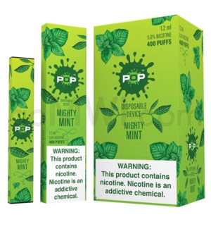 Pop Disposable Nic-Salt E-Juice 1.2ml 5% - Mighty Mint