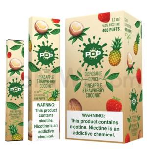 Pop Disposable Nic-Salt E-Juice 1.2ml 5% -Pineapple Strw Coco