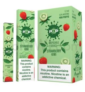 Pop Disposable Nic-Salt E-Juice 1.2ml 5% - Strawberry Kiwi