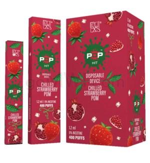 Pop Disposable Nic-Salt E-Juice 1.2ml 5%-Strawberry Pomegrana