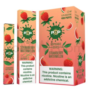 Pop Disposable Nic-Salt E-Juice 1.2ml 5%-Strawberry
