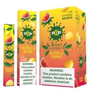 Pop Disposable Nic-Salt E-Juice 1.2ml 5%-Watermelon Lemonade