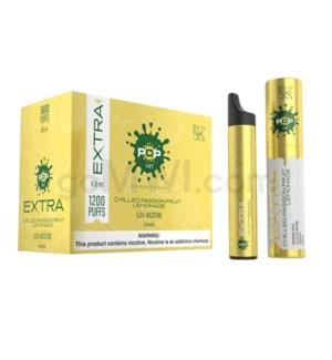 Pop Xtra Disposable Nic-Salt 1.2ml 5% - Passionfruit Lemonade