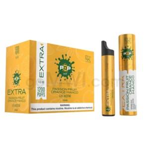 Pop Xtra Disposable Nic-Salt 1.2ml 5% - Passionfruit Orange M