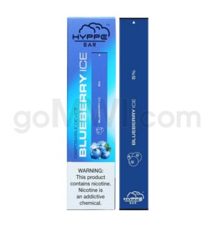 Hyppe Bar Disposable Nic-Salt 1.3ml 5% - Blueberry Ice