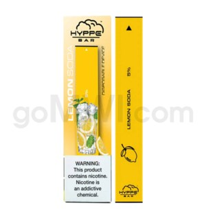 Hyppe Bar Disposable Nic-Salt 1.3ml 5% - Lemon Soda