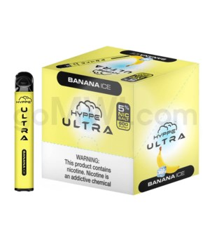 Hyppe Ultra Disposable Nic-Salt 2ml 5% - Banana Ice