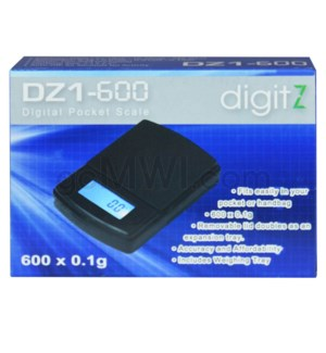 Digitz DZ1-600 600g x 0.1g Scales