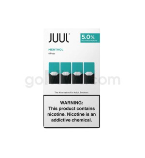 Juul Pods Cartridges 0.7ml 5% Strength 4ct -Classic Menthol