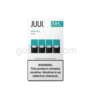 Juul Pods Cartridges 0.7ml 3% Strength 4ct -Classic Menthol