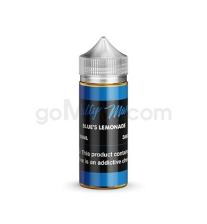 Salty Man E-Juice 100ml 3mg - Blue's Lemonade