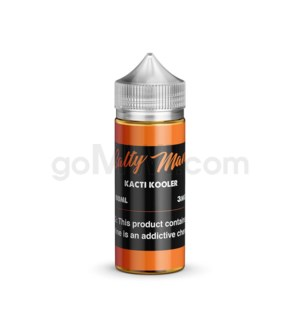 Salty Man E-Juice 100ml 3mg - Kacti Kooler