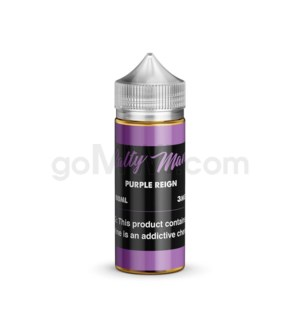 Salty Man E-Juice 100ml 3mg - Purple Reign