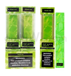 Sea Stix Nic-Salt Disposable 5% - Pear Ice 8PC/BX
