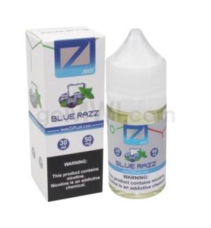 Ziip Salt Nic E-Juice 30ml 50mg Nicotine- Blue Raz