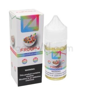 Ziip Salt Nic E-Juice 30ml 50mg Nicotine- Froopy