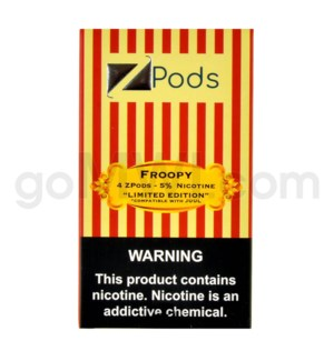 ZPods (ZiiP Lab) Nic-Salt E-Juice L1ml 5% 4ct -Froopy