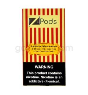 ZPods (ZiiP Lab) Nic-Salt E-Juice 1ml 5% 4ct -Lemon Macaron
