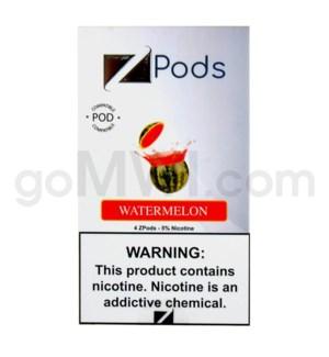 ZPods (ZiiP Lab) Nic-Salt E-Juice 1ml 5% 4ct -Watermelon