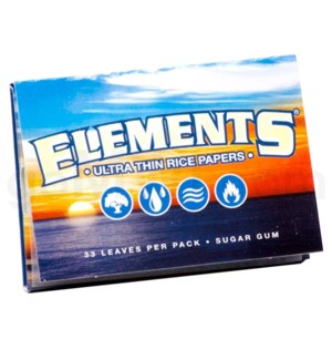 "Elements Ultra Rice 1 1/2"" 33/pk 25ct/bx"