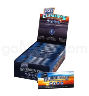 Elements Ultra Rice 1 1/4 50/pk 25ct/bx 24/cs