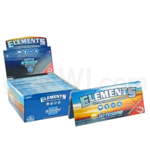 Elements Ultra Rice Artesano King Size 32/pk 15ct/bx