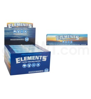 Elements Ultra Rice Connoisseur King Size Sim 33/pk 24ct/bx