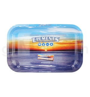 Elements Rolling Tray Metal SMALL