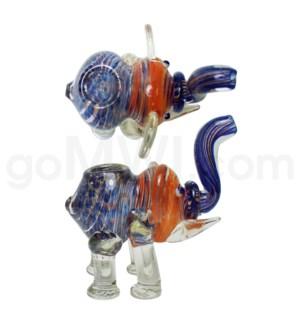 """I/O 4"""" Frit Elephant - assorted"""
