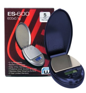 AWS ES-600 600g x 0.1g ES Pocket Scales- Blue