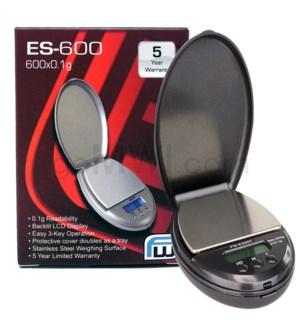 AWS ES-600 600g x 0.1g ES Pocket Scales- Black