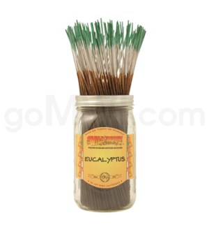Wildberry Incense Eucalyptus 100/ct