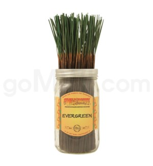 Wildberry Incense Evergreen 100/ct