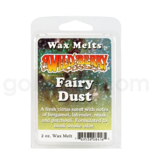 Wildberry Incense Fairy Dust Wax Melt