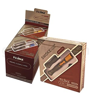 Fujima Cigarette Holder 2 in 1 Permanent Filter 10ct/6ct.