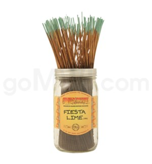 Wildberry Incense Fiesta Lime 100/ct