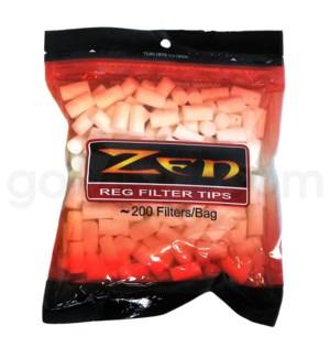 DISC Zen FILTERS Regular 200 ct/bag.
