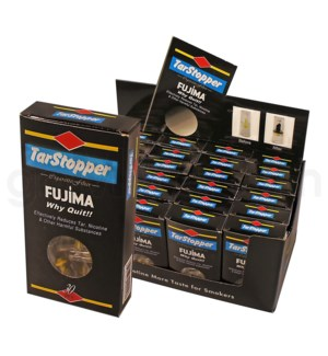 Fujima Filter Tar Stopper 30CT/BX 24PC/BX