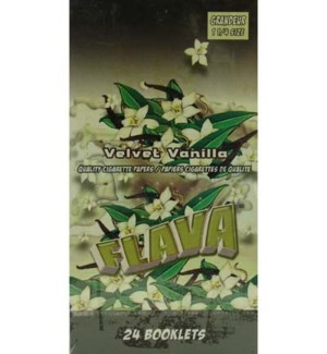 DISC Flava Papers 1.25 Paper 24CT/BX Velvet Vanilla