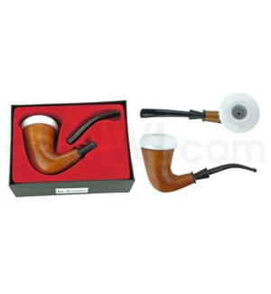 Wooden Tobacco Pipe