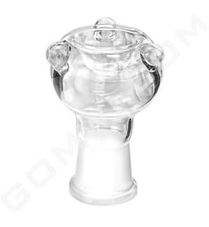 DISC GoG 19mm Female Bowl Clear w/Marbles
