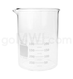 Beaker 400ml 12PC/BX
