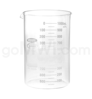 Beaker 1000ml 6PC/BX