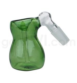 DISC GoG C/T 19mm Ashcatcher Bubble Shape-Green