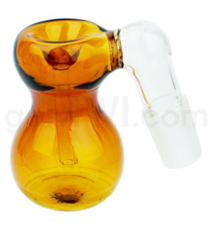 DISC GoG C/T19mm Ashcatcher Bubble Shape- Amber