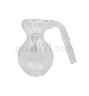9mm Ashcatcher Bubble Shape CLEAR