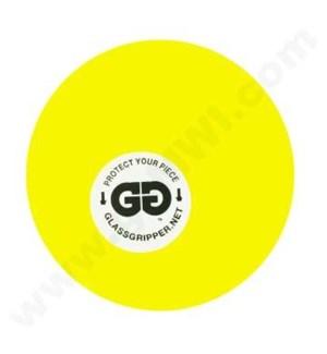 """DISC Glass Gripper 2"""" @-Yellow"""