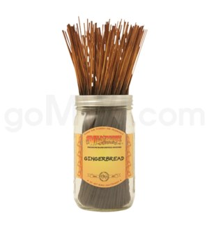 Wildberry Incense Gingerbread 100/ct