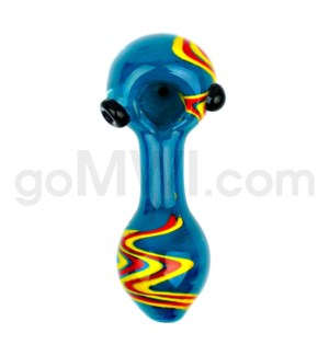 "I/O 4"" Frit Zig Zag Spoon - Asst. Colors"